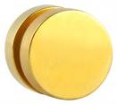 Stahl Magnet Fake Plug gold